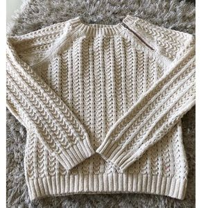 NWT American Eagle Open Weave Sweater Size Large